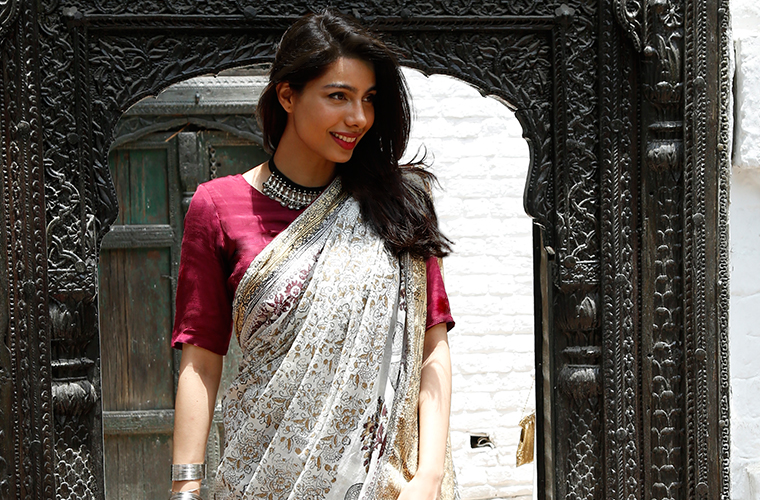 Heirloom Saris make a comeback ft. Maryam Mahmood