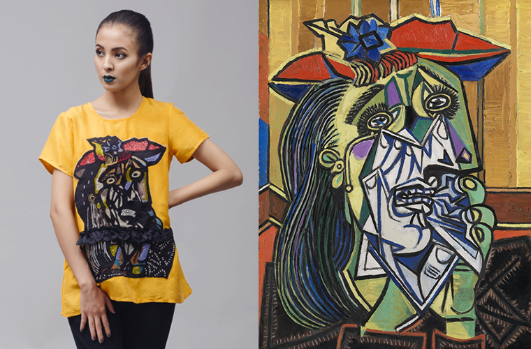 "Art meets fashion in ""The Cubist"""