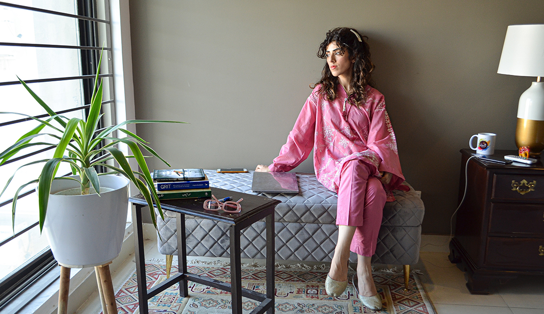 Pretty in Pandemic: Marya Javed reveals how dressing up helped her survive the lockdown.